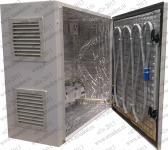 Термошкаф ТША-122-400х500х210 (ШхВхГ),с кабельным обогревом и вентиляцией.Класс защиты IP55.