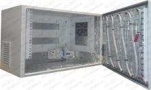 Термошкаф ТША-222-600х380х350 (ШхВхГ),с  кабельным обогревом и  вентиляцией.Класс защиты IP55.