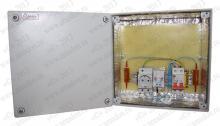 КМО110-20.20.12-40-УХЛ1 Коробка металлическая  'Амадон' всепогодная с обогревом 40 Вт. ШхВхГ: 200x200x120 мм. Без вентиляции. IP66, исполнение УХЛ1.