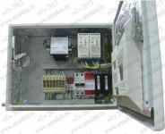 ТШ-6-2х30-УХЛ1 исп. 6 Термошкаф 'Амадон' всепогодный с обогревом 60 Вт. Размеры (ШхВхГ): 380х300х155 мм. Отключение нагрузки при аварийном понижении t. Клеммный блок 6х6мм2, УЗИП по питанию. УЗИП по передачи данных. Датчик ОД. IP66, УХЛ1 (-60...+50 *С). В комплекте: крепление KNS2; гермовводы 2xPGA-13,5; 2xPGA-21;.2xPGA-36. Замок- E3524 с 2 ключами.