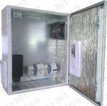 Термошкаф 'Амадон' всепогодный вентилируемый, с обогревом. Размеры (ШхВхГ): 400x500x210 мм. Вентиляция IP55, 40 м3/час (90 м3/час при фильтрах IP54). Автоматическое отключение питания установленной аппаратуры.