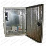 Термошкаф 'Амадон' всепогодный вентилируемый, с обогревом. Металлический корпус, биметаллический термостат. Размеры (ШхВхГ): 300x400x200 мм. Мощность обогрева: 55 Вт. Вентиляция с фильтрами IP55, пропускная способность 40 м3/час. Класс защиты IP55
