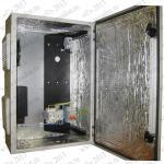 ТША112-40.60.20-100-У1 Термошкаф 'Амадон' всепогодный вентилируемый, с обогревом.Кронштейн вертикальный, 4U, черный      КНО-В-4U-9005