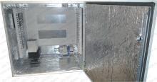 "Термошкаф ТША-212-600х600х400 (ШхВхГ),с 19"" кронштейном,с обогревом и вентиляцией."