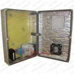 ТША512-360.254.111-30 Термошкаф Амадон  пластиковый, с обогревом и вентиляцией. Класс защиты IP55.