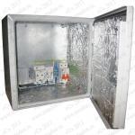 ТША110-30.30.15-30-У1  Термошкаф 'Амадон' всепогодный с обогревом. Размеры (ШхВхГ): 300x300x150 (155) мм. Мощность обогрева: 30 Вт. Без вентиляции. Степень защиты IP66, исполнение У1 (в уличных условиях, при t до -45 С).