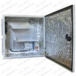 ТША112-40.40.20-50-У1 Термошкаф 'Амадон' всепогодный вентилируемый, с обогревом. Размеры (ШхВхГ): 400x400x200 мм.